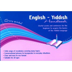 English-Yiddish Handbook